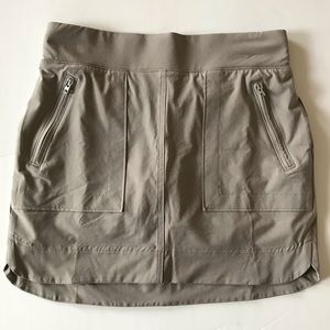 Athleta Skirt with Built-In Shorts and Zip Pockets